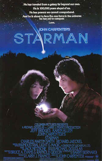 Unknown poster from the movie Starman