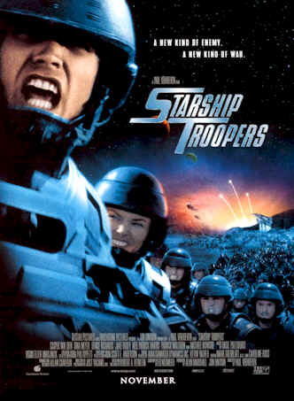 Unknown poster from the movie Starship Troopers
