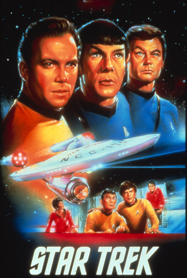 Unknown poster from the series Star Trek