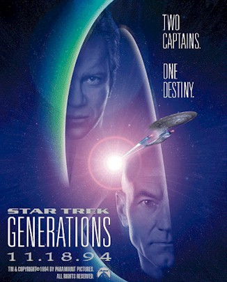 Unknown poster from the movie Star Trek: Generations