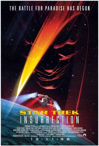 Unknown poster from the movie Star Trek: Insurrection