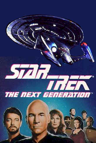 Unknown poster from the series Star Trek: The Next Generation