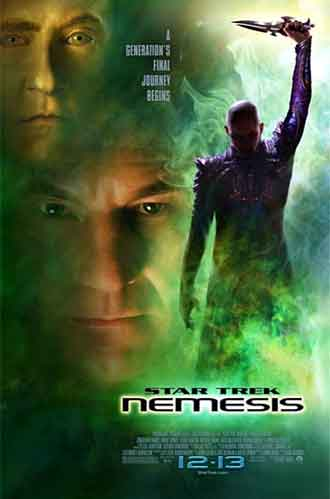 Us poster from the movie Star Trek: Nemesis