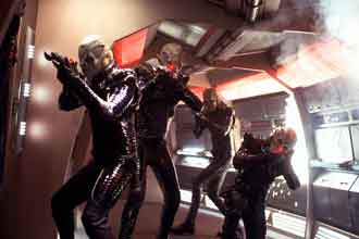Romulan invade the Enterprise - Star Trek: Nemesis