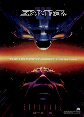 Unknown poster from the movie Star Trek VI: The Undiscovered Country
