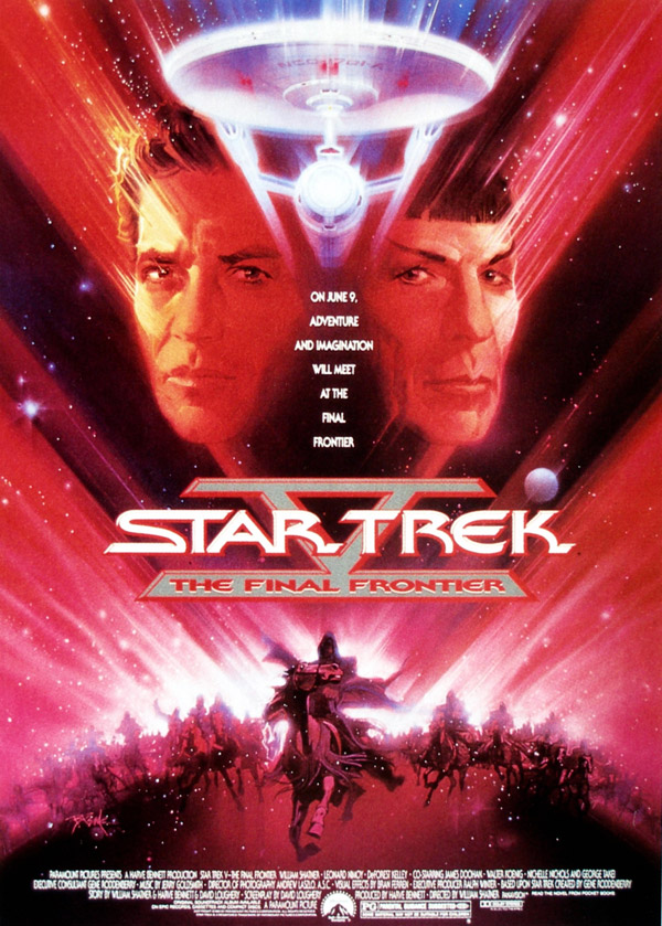 Us poster from the movie Star Trek V: The Final Frontier