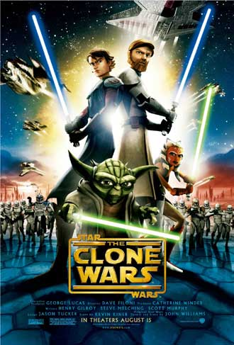 Us poster from the movie Star Wars: The Clone Wars