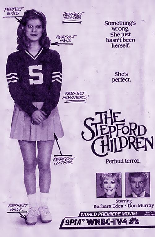 Us poster from the TV movie The Stepford Children