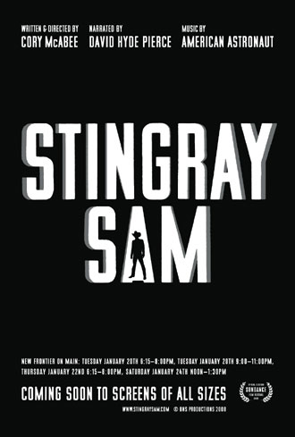 Us poster from the movie Stingray Sam