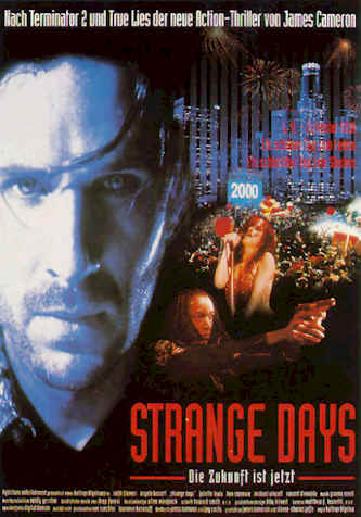 German poster from the movie Strange Days