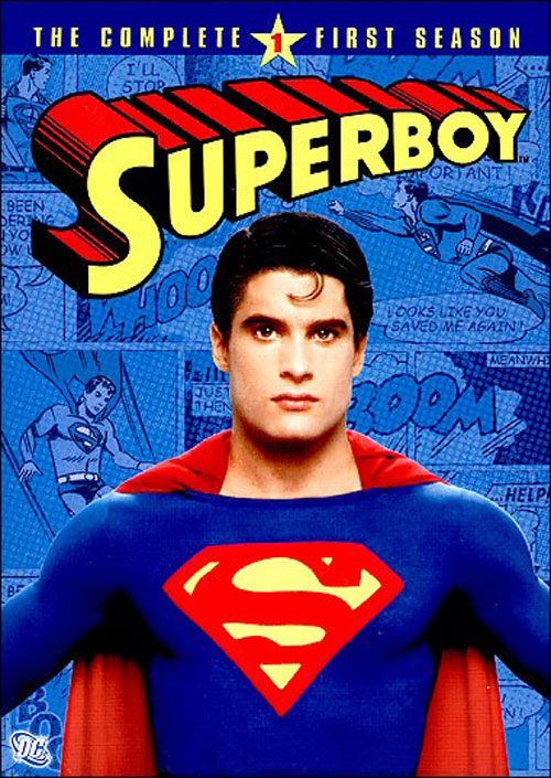 French poster from the series Superboy