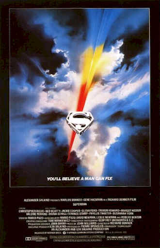 Unknown poster from the movie Superman