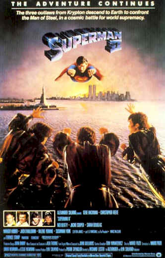 Unknown poster from the movie Superman II