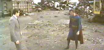 Fight between good and evil - Superman 3 (Superman III)