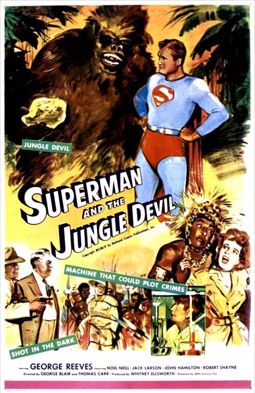 Us poster from the movie Superman and the Jungle Devil