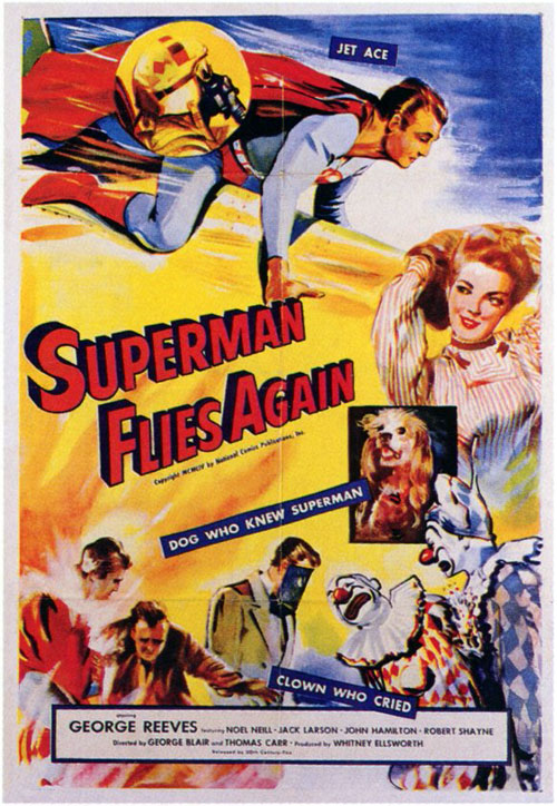 Us poster from the movie Superman Flies Again