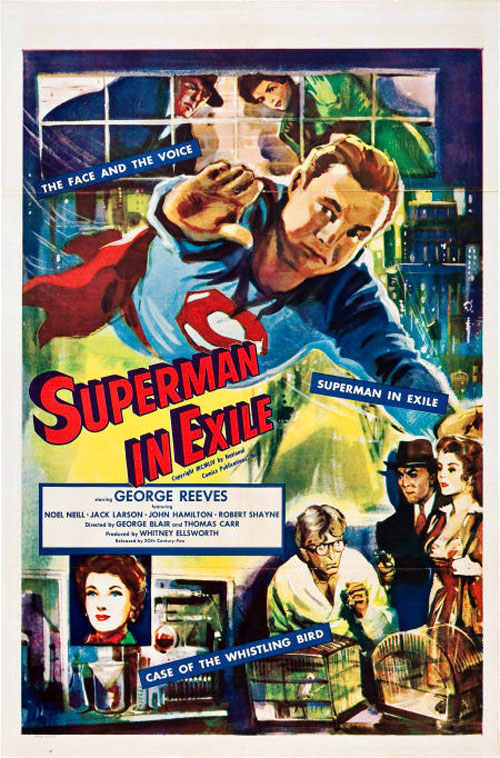 Us poster from the movie Superman in Exile