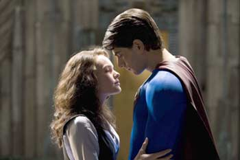 To gain back beauty's heart - Superman Returns