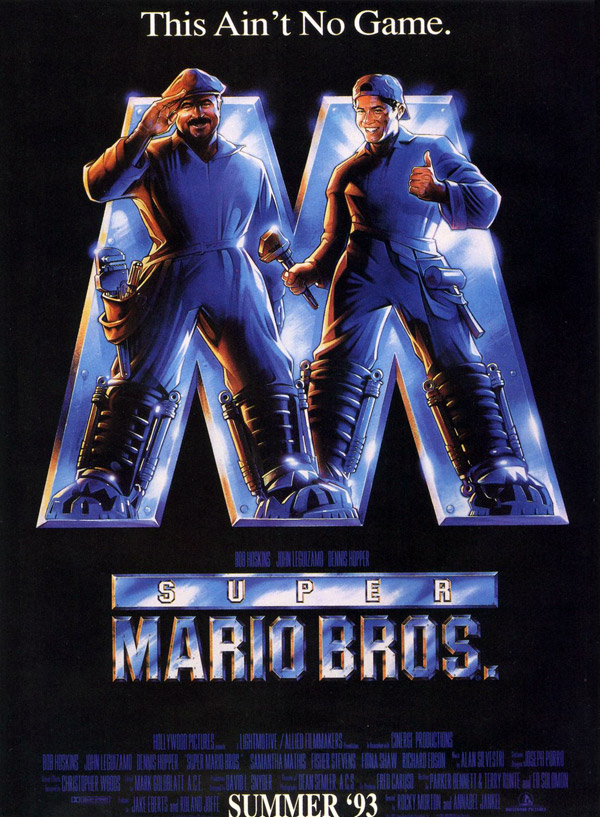 Us poster from the movie Super Mario Bros (Super Mario Bros.)