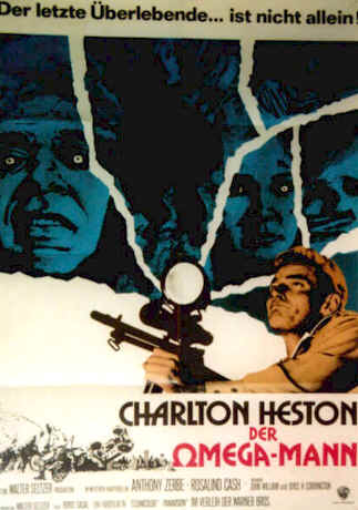 Unknown poster from the movie The Omega Man