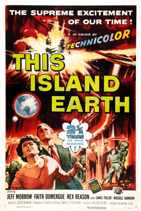 Us poster from the movie This Island Earth