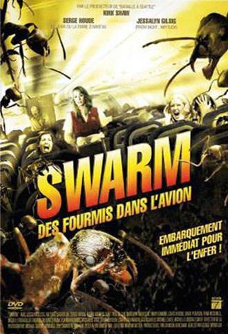 French poster from the TV movie Destination: Infestation