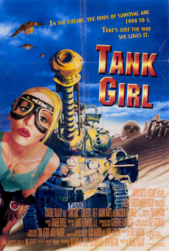 Us poster from the movie Tank Girl