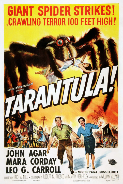 Us poster from the movie Tarantula