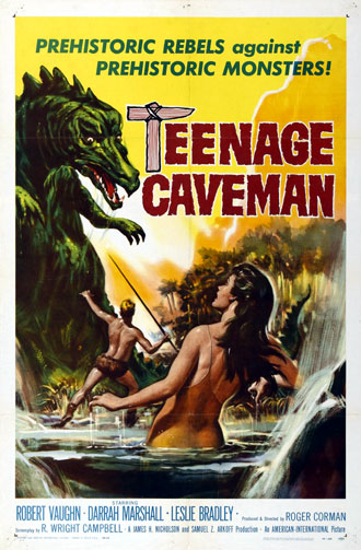 Unknown poster from the movie Teenage Cave Man