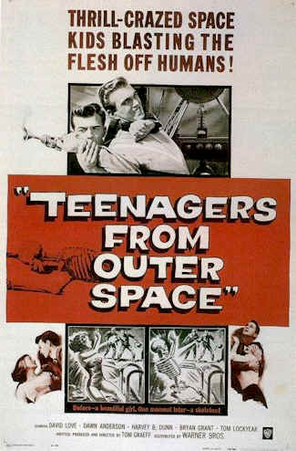 Unknown poster from the movie Teenagers from Outer Space