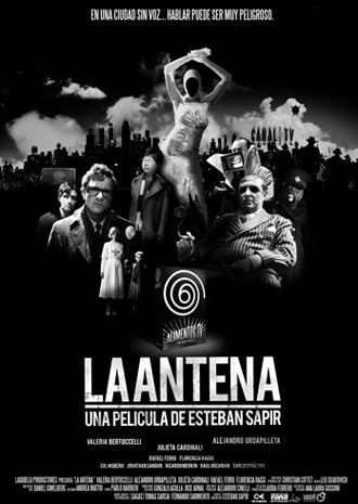Argentinian poster from the movie The Aerial (La antena)