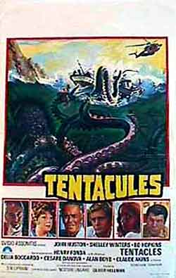 Belgian poster from the movie Tentacles (Tentacoli)
