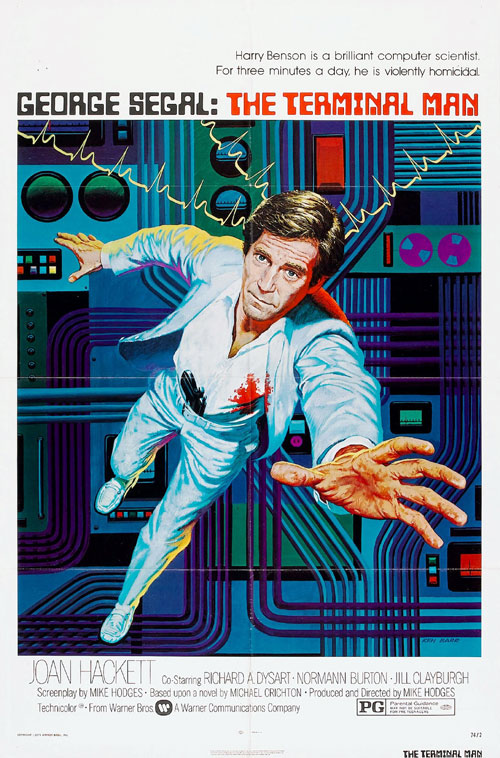Us poster from the movie The Terminal Man