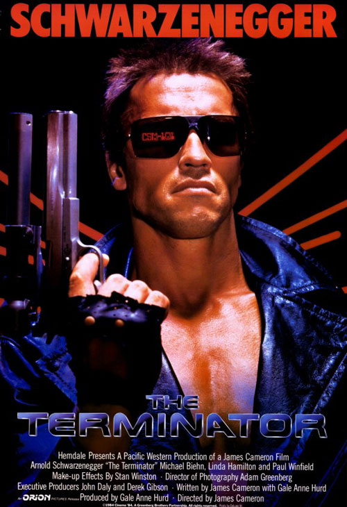 Us poster from the movie Terminator (The Terminator)