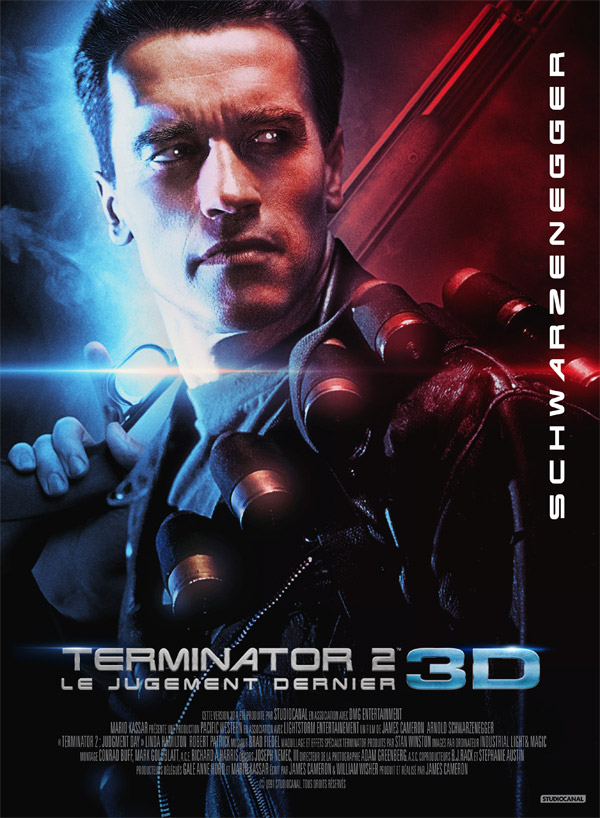 French poster from 'Terminator 2: Judgment Day'