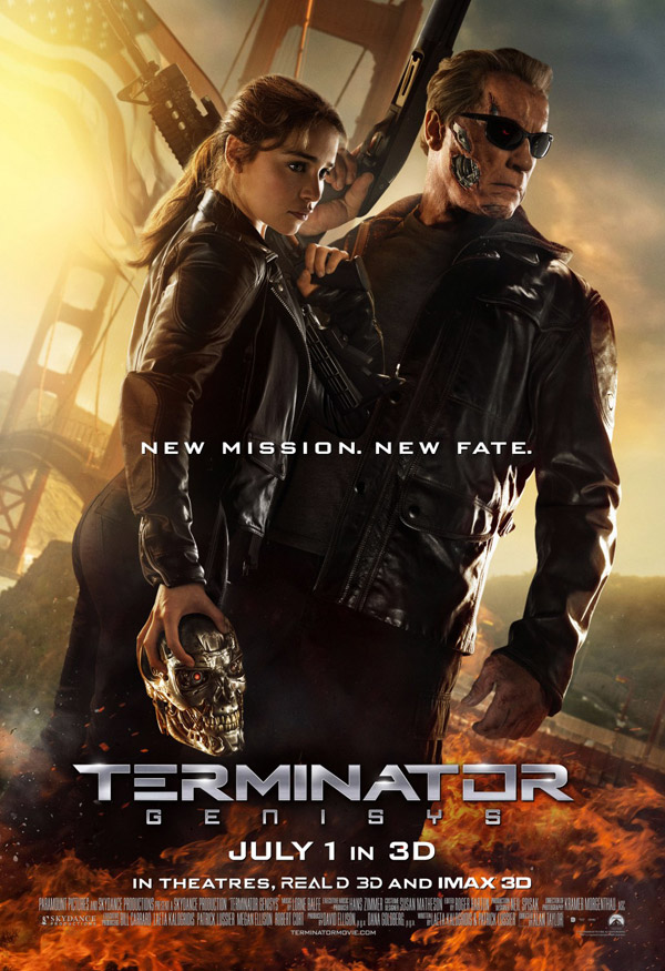Us poster from the movie Terminator Genisys
