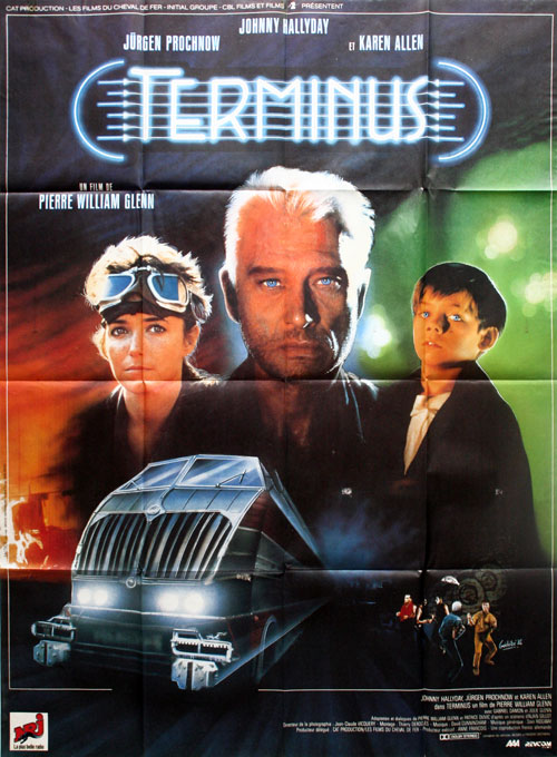 French poster from the movie Terminus