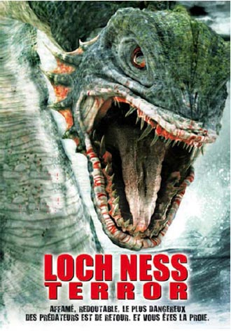 French poster from the TV movie Beyond Loch Ness