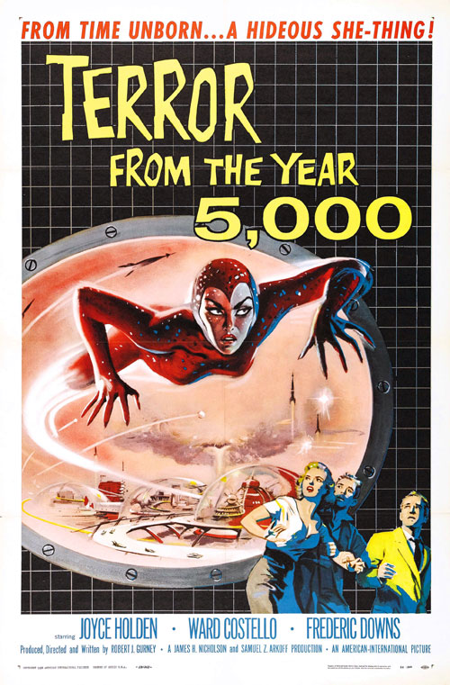 Us poster from the movie Terror from the Year 5000