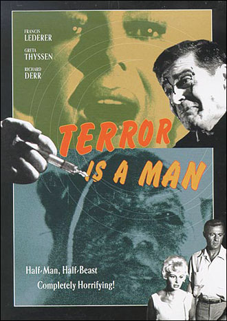 Unknown poster from the movie Terror Is a Man
