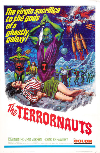 Us poster from the movie The Terrornauts