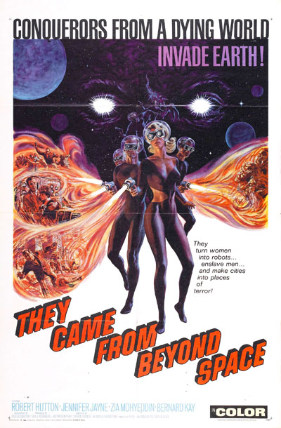 Us poster from the movie They Came From Beyond Space (They Came from Beyond Space)