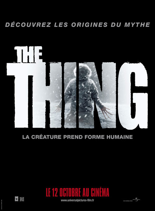 Affiche française de 'The Thing'