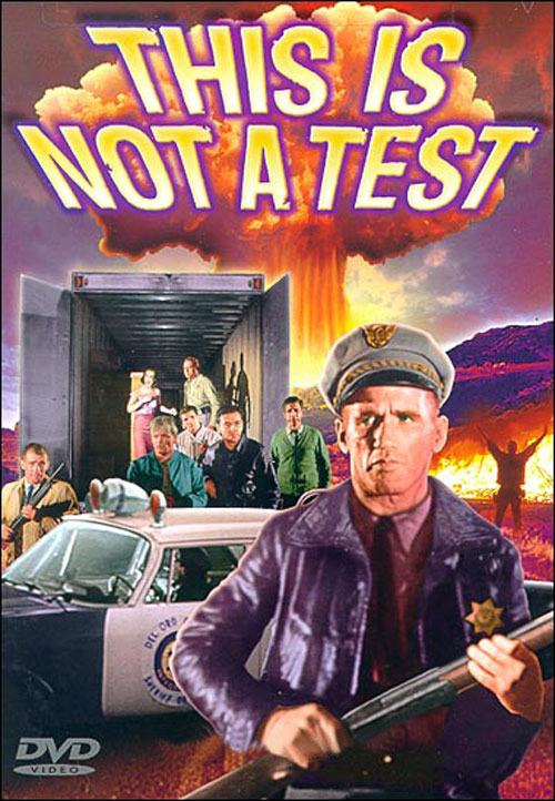 Unknown artwork from the movie This Is Not a Test