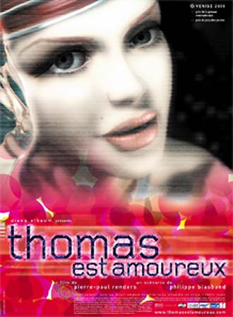 Belgian poster from the movie Thomas est amoureux