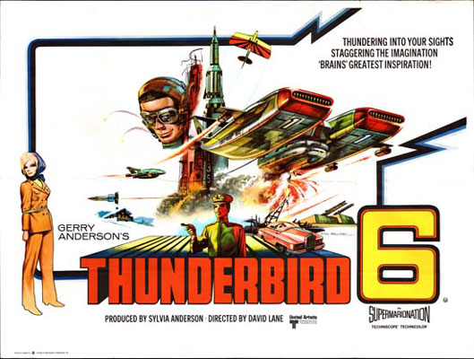 Unknown poster from the movie Thunderbird 6