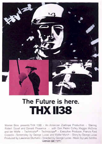 Unknown poster from the movie THX 1138