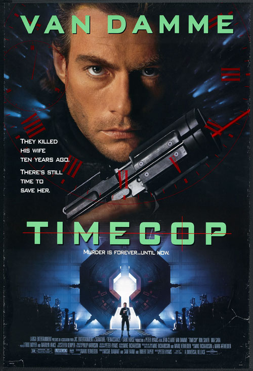 Us poster from the movie Timecop