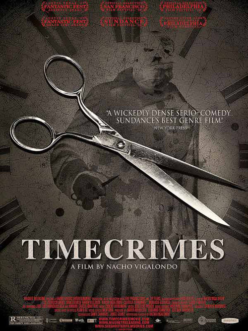 Us poster from the movie Timecrimes (Los cronocrímenes)