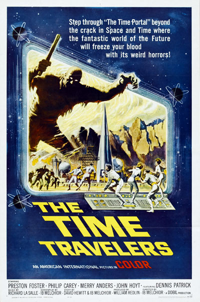 Us poster from the movie The Time Travelers